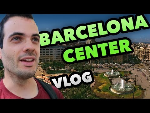 GOING TO BARCELONA CITY CENTER - ENTREPRENEUR DAILY VLOG #22