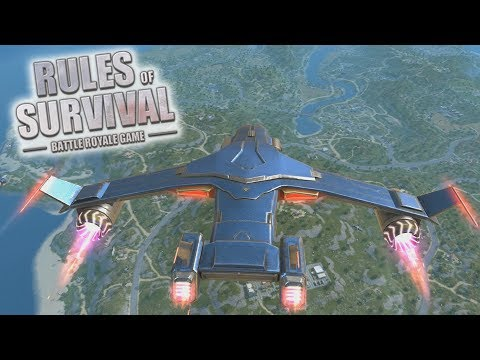 JUST WIN MEDAL! - Rules of Survival: Battle Royale