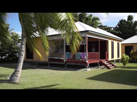 Architect designed, purpose built Cocos Cottages, great places to stay on Cocos Keeling Islands