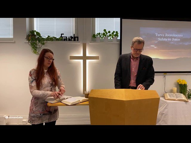 Sunnuntai / Sunday 19.4.2020 - Turva Jeesuksessa
