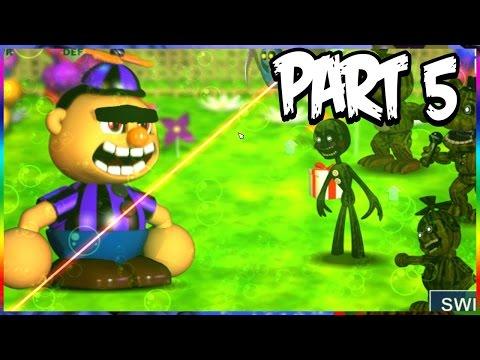 Five Nights at Freddys World Gameplay Walkthrough Part 5 | BROW BOY BOSS! Pin Wheel CIRCUS!