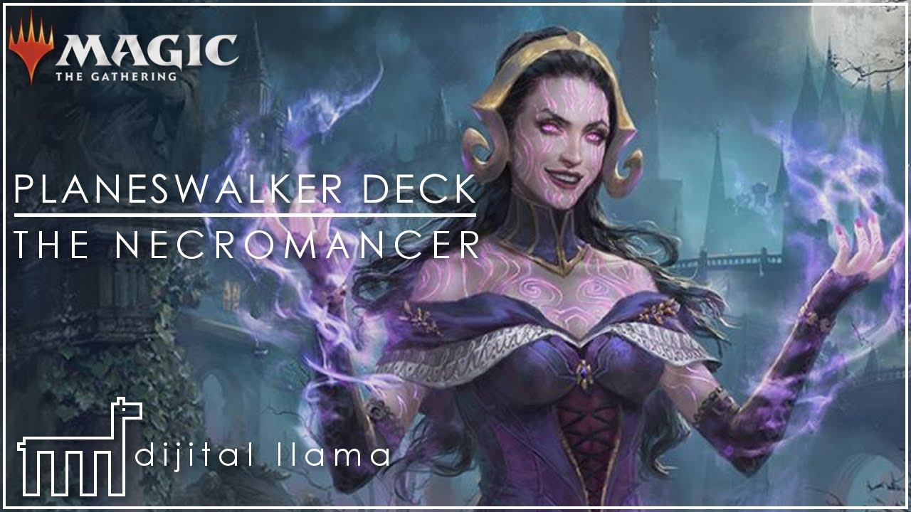 M19 Core Set 2019 MTG Planeswalker Mythic Rare THE NECROMANCER Foil LILIANA