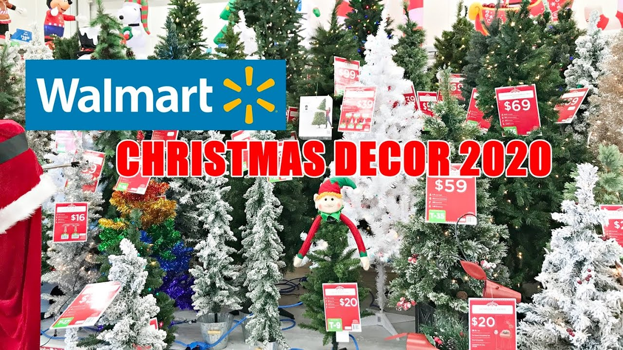 Walmarts Hours For Christmas 2020 WALMART CHRISTMAS DECOR 2020 SHOP WITH ME   YouTube