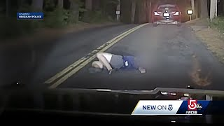 Uber driver finds 18-year-old passed out drunk in middle of road