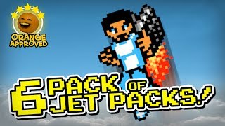 6 Pack of Jet Packs (Orange Approved!)