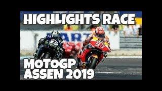 VINALES ASAPI MARQUEZ || HIGHLIGHT MOTOGP ASSEN 2019