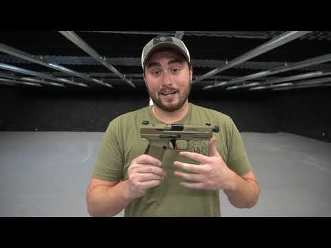 Canik TP9SF Elite Combat; Overview and Shooting