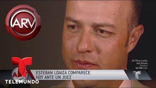 Libre bajo fianza Estaban Loaiza tras cita en corte | Al Rojo Vivo | Telemundo