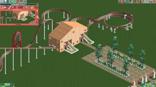 Roller Coaster Tycoon 2 Tutorial: Excitement Ratings Of Roller Coasters