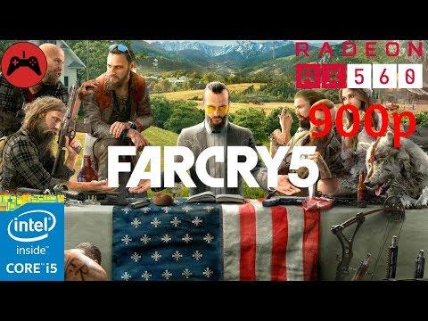 Far Cry 5 Gameplay | Core I5 3570 + RX 560 4GB | Ultra Settings |