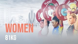 Ashgabat 2018 Highlights   Women 81kg