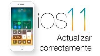 Nuevo iOS 11| Actualizar correctamente |tutorial en español |facilisimo