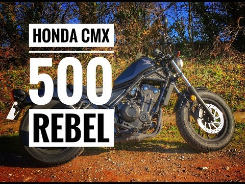 2018 Honda CMX 500 Rebel Review