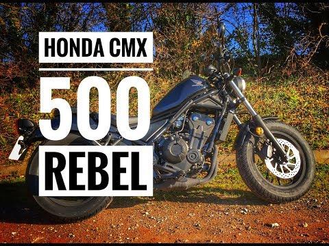 2018 Honda CMX 500 Rebel Review
