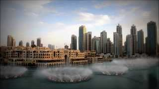 Dubai Fountain - Celine Dion and Andrea Bocelli - The Prayer (HD 1080p)