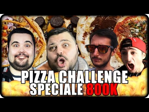 Pizza Challenge Epico : Speciale 800k !!!