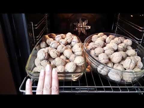 Как правильно подсушить орехи в духовке