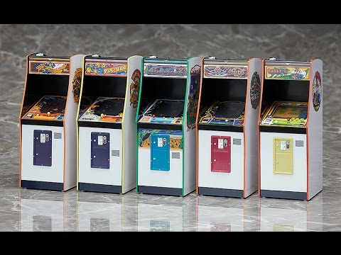 Namco Arcade Game Machine Collection Galaxian 1//12 scale FREEing