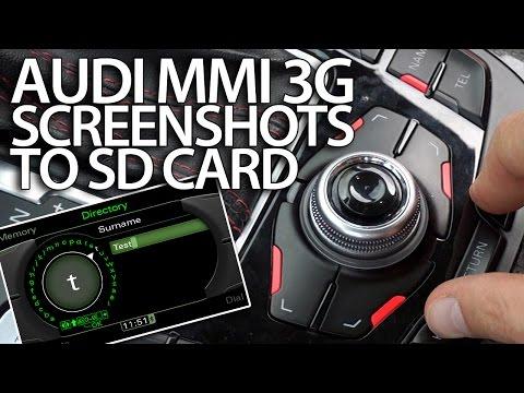 Audi q7 sd card slot