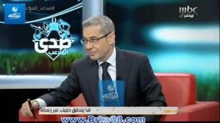 بالفيديو: مصطفى الآغا يقبل رأس زوجته مي الخطيب على الهواء بعد كلمتها