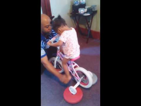 Teaching Year Old How To Peddle