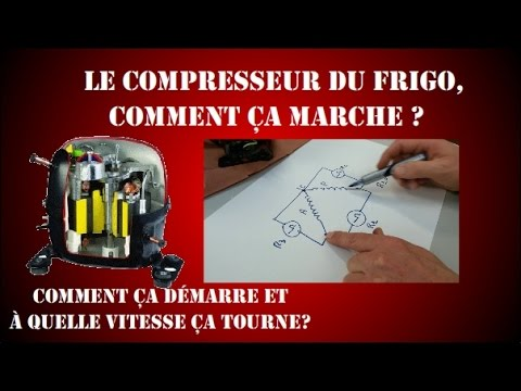Ep4 le cycle frigorifique d marrage d 39 un compresseur for Peut on coucher un frigo froid ventile