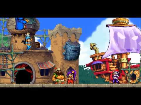 Shantae and the Pirate's Curse - Chapter 2 - Cackle Tower - Run Run Rottytops - Empress Spider