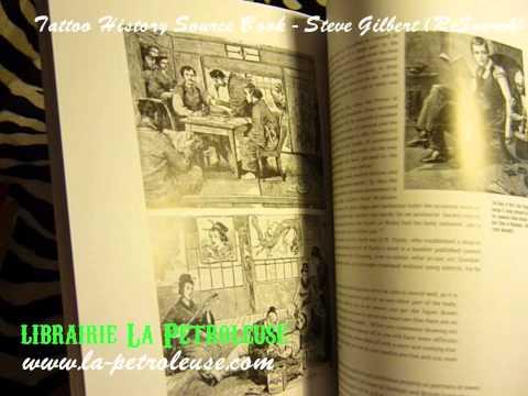 livre-/-book-a-source-book-tattoo-history-steve-gilbert-(research)-librairie-la-petroleuse
