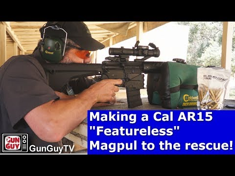 Building A California Featureless AR15 - Magpul To The Rescue!