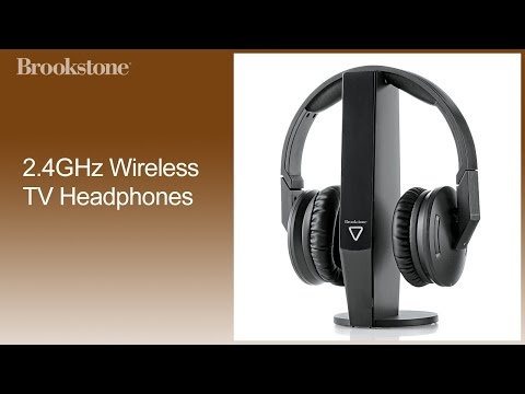 aaa7d2af0aa933 2.4GHz Wireless TV Headphones How to Set Up - YouTube