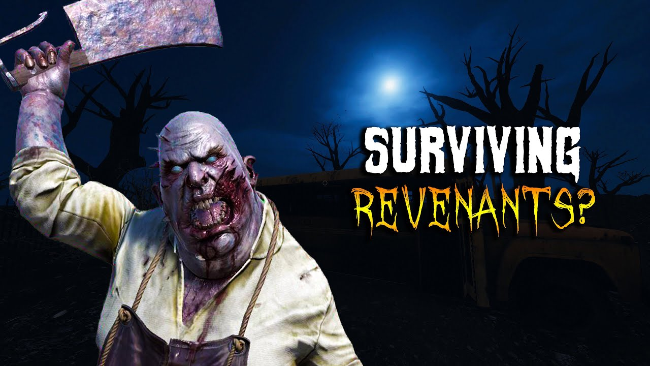 How LONG can you SURVIVE a REVENANT? #shorts