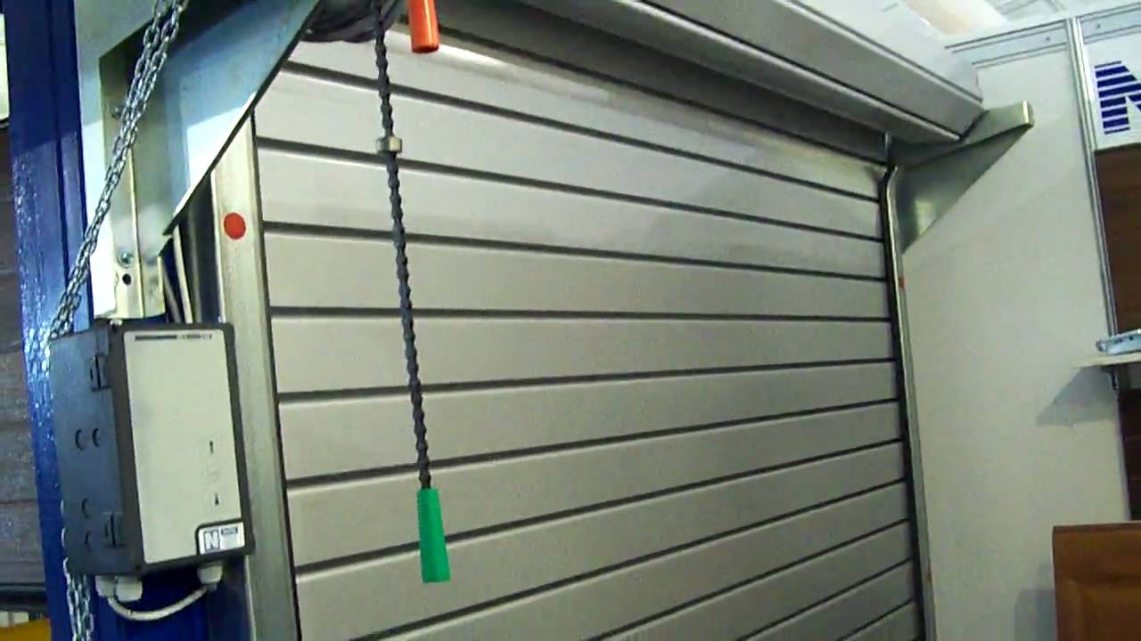 RollUp Shutter Doors  Omnitec Security Systems  YouTube