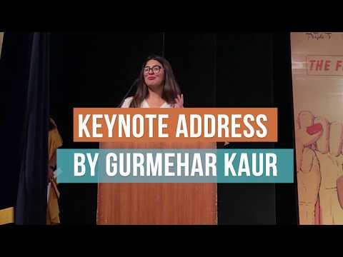Gurmehar Kaur At The Feminist Conference 2018 | SheThePeople.TV