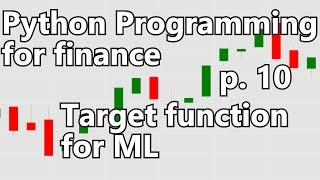 Creating machine learning target function - Python Programming for Finance p. 10