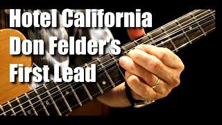 Hotel California Don Felder 39 s first lead guitar lesson tutorial.mp3
