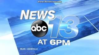 WLOS: News 13 At 6pm Open--01/11/16
