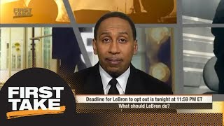 Stephen A. Smith: Dan Gilbert said he'd 'get his team back' if LeBron James left | First Take | ESPN