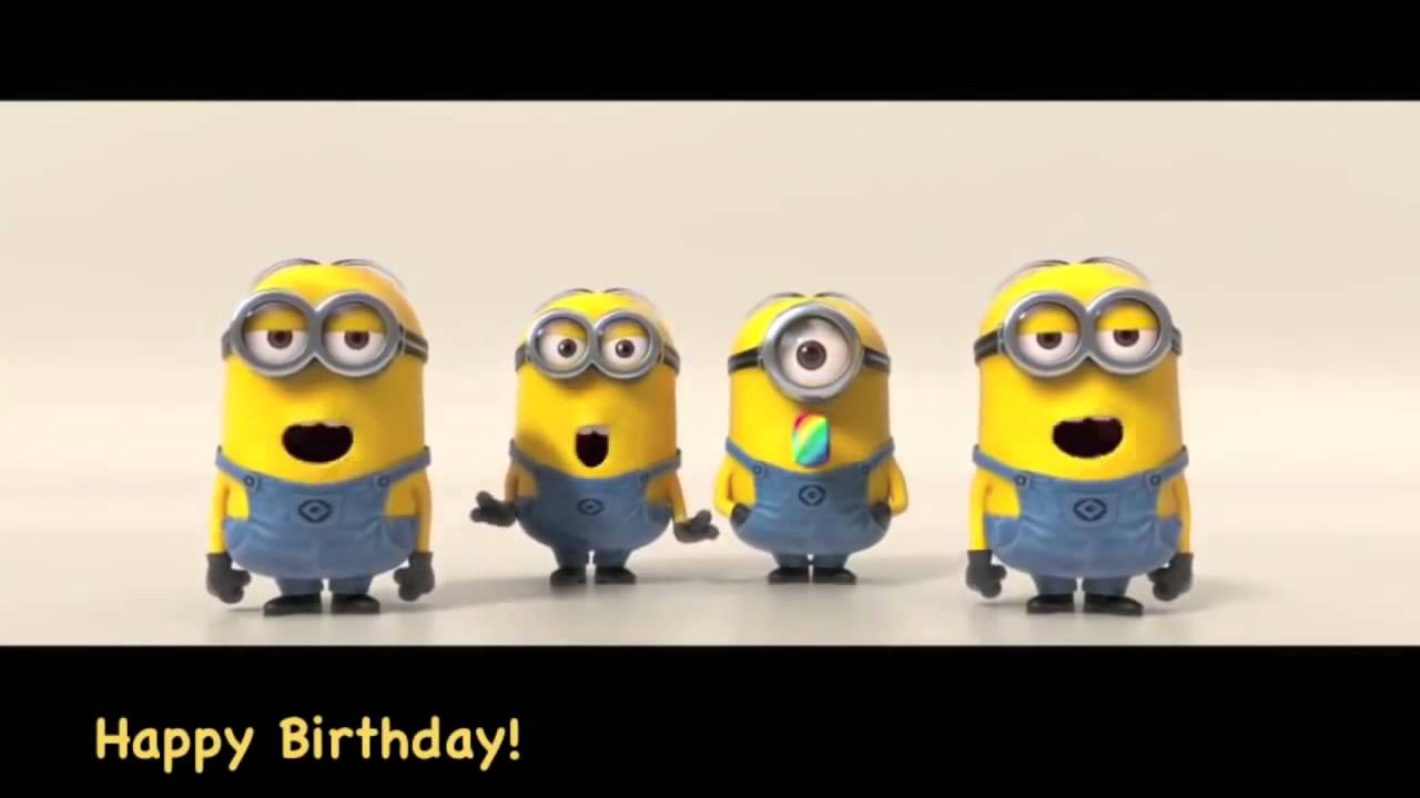 cheap for discount 087b4 f0605 Buon compleanno Minions