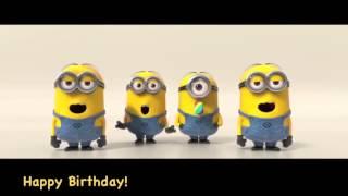 Buon compleanno Minions