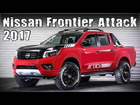 New 2017 Nissan Frontier Attack Concept