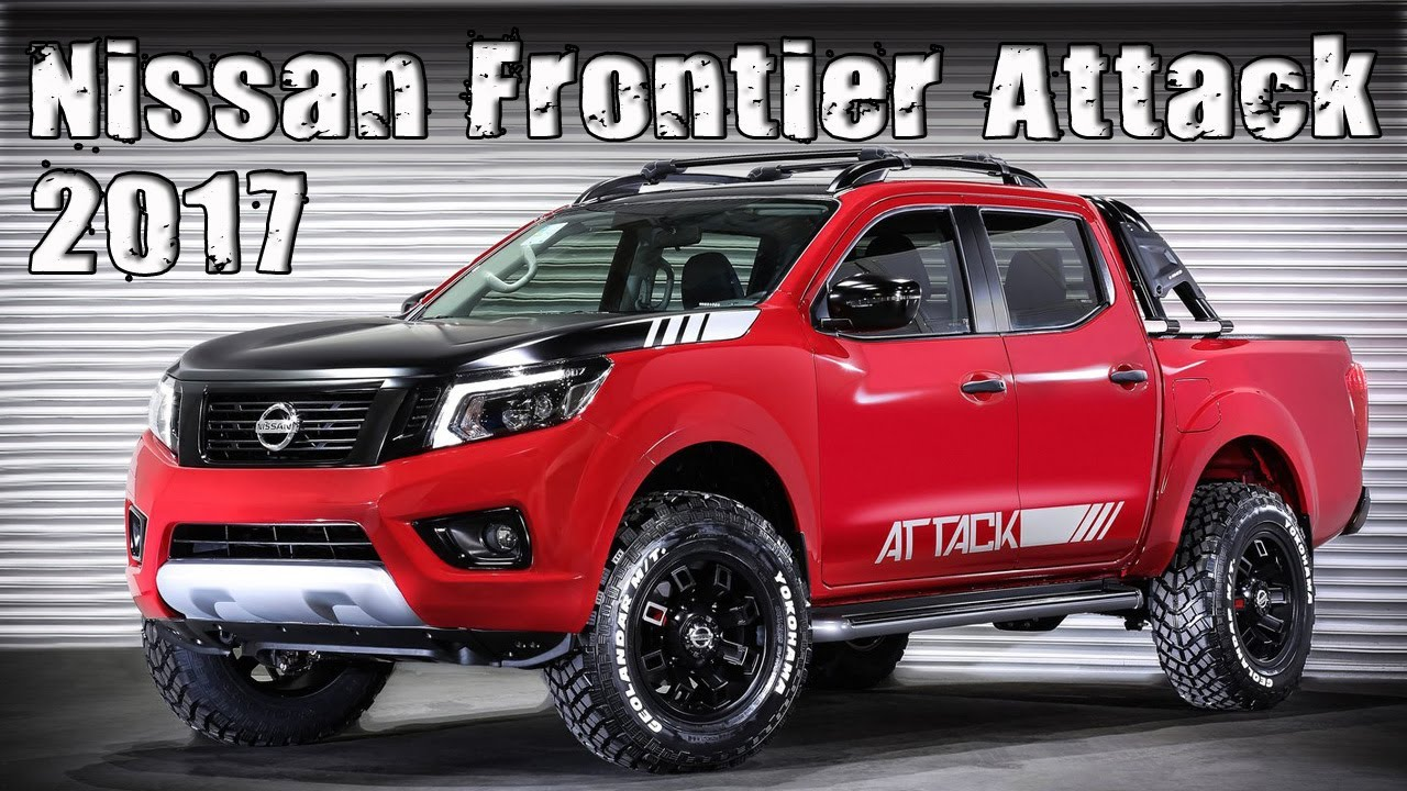 New 2017 Nissan Frontier Attack Concept - YouTube