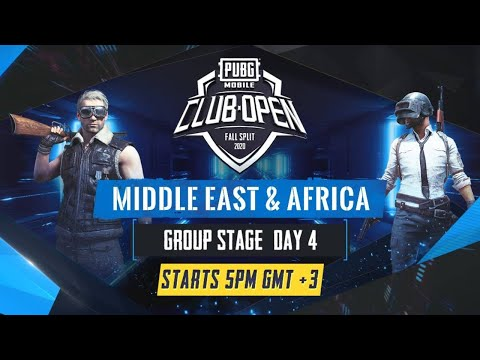 [AR] PMCO Middle East & Africa Group Stage Day 4 | Fall Split | PUBG MOBILE CLUB OPEN 2020