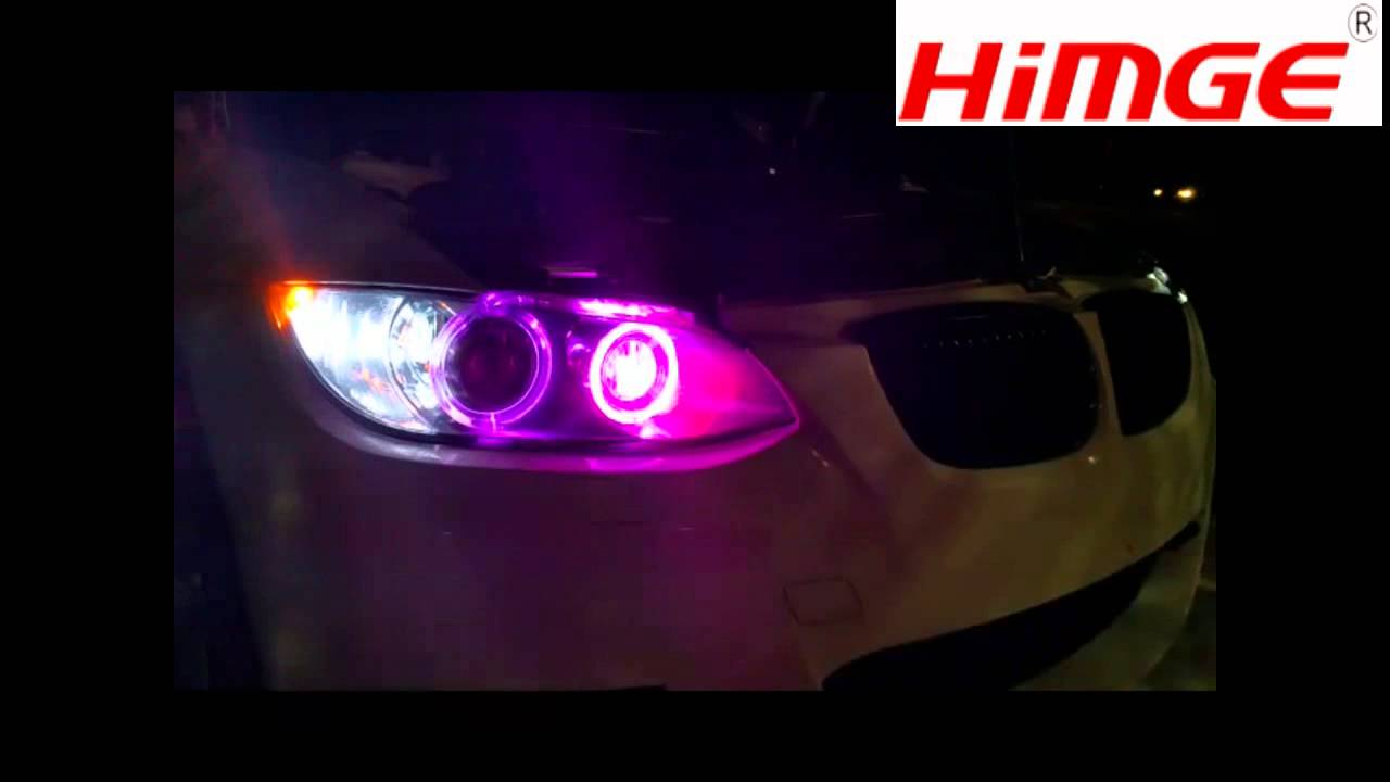 How to install the rgb led angel eyes for bmw