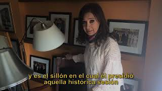 Video: Con este video CFK denuncia un saqueo en su casa