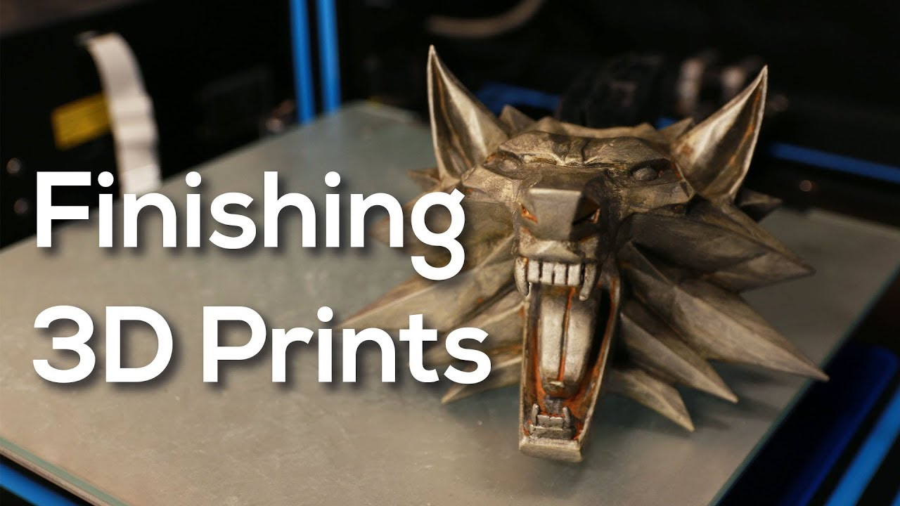 3D Print Post-Processing Guide