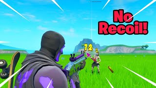 No RECOIL Glitch In Fortnite Saison X (No Bloom Glitch)