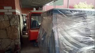 Восстановление и капитальный ремонт кабины трактора Т 150 начало