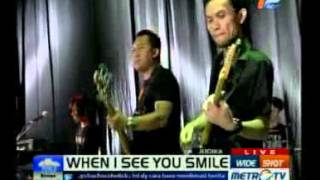 Judika - When I See You Smile (Live@Metro TV)