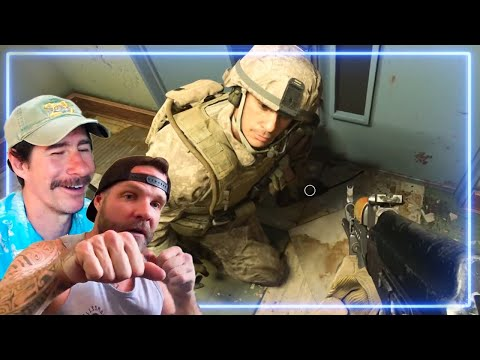 Marines REACT to HUNTING PARTY from Call of Duty: Modern Warfare  Experts React