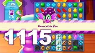 Candy Crush Soda Saga Level 1115 (No boosters)